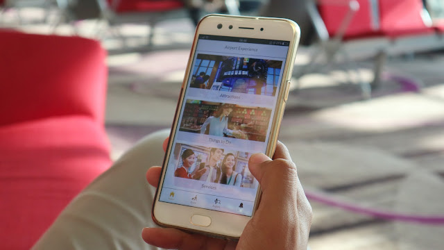 internetan lebih lama dengan ichangi di changi airport