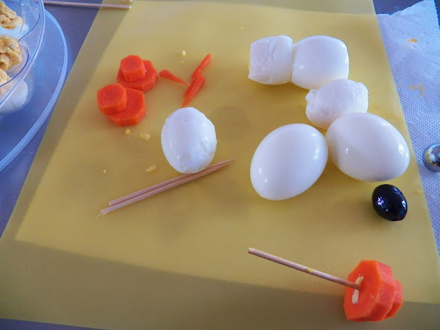 Snowmen and Deviled Eggs