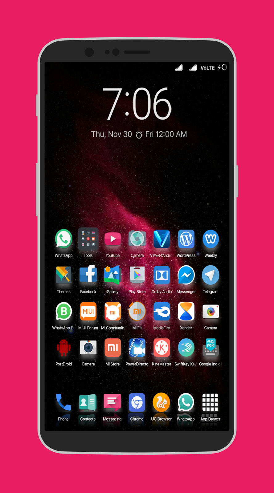 Most Exceptions [Grid 7x8] Theme Only for Miui 8 & Miui 9 Custom