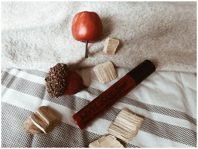 nyx cosmetics liquid suede cream lipstick, review
