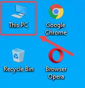 cara menampilkan icon this pc
