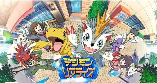 Game Digimon Rearise Akan Rilis Global