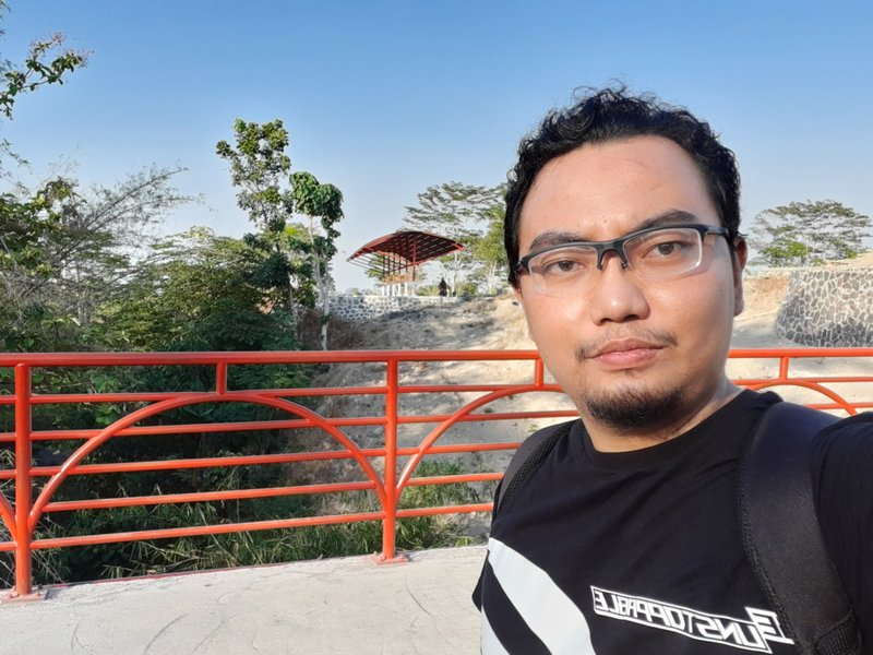 Hasil Foto Kamera Depan Samsung Galaxy M30s