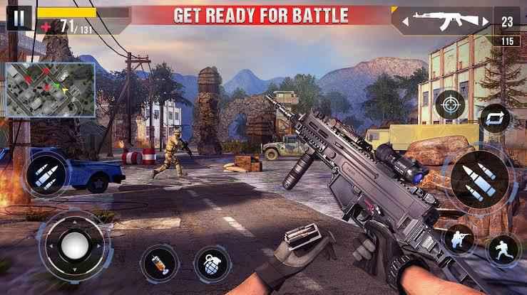 Real Commando Secret Mission Gameplay