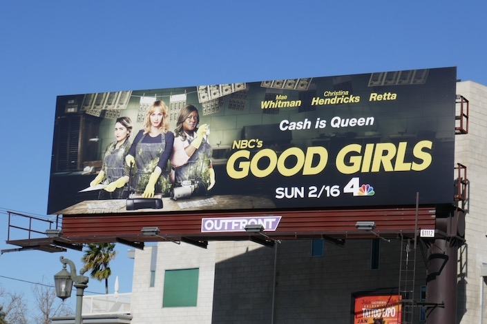 Good Girls season 3 NBC billboard