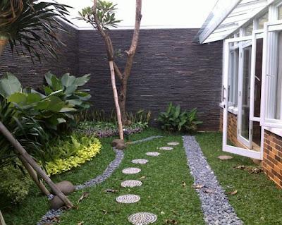Taman Minimalis Dibelakang Rumah