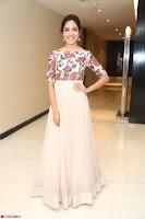 Ritu Varma smiling face Cream Anarkali dress at launch of OPPO New Selfie Camera F3 ~  Exclusive 086.JPG