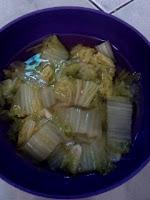 resep membuat sayur sawi bening