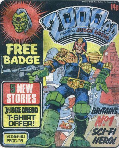 2000 AD Prog 178, Judge Dredd
