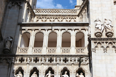 Detalles arquitectónicos de la Catedral de Toledo