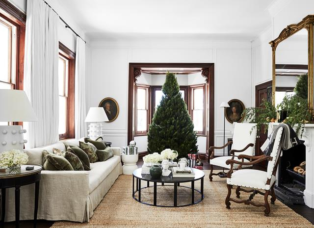 Chic country Australian home with a festive touch