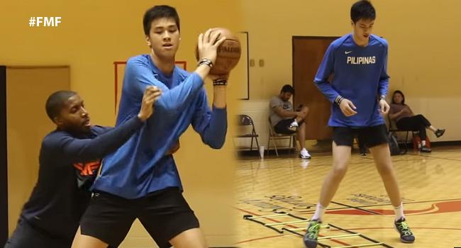 Kai Sotto's Workout With Skills Coach Nick Stapleton (VIDEO)