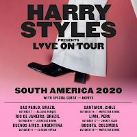 Concierto de HARRY STYLES en America Latina