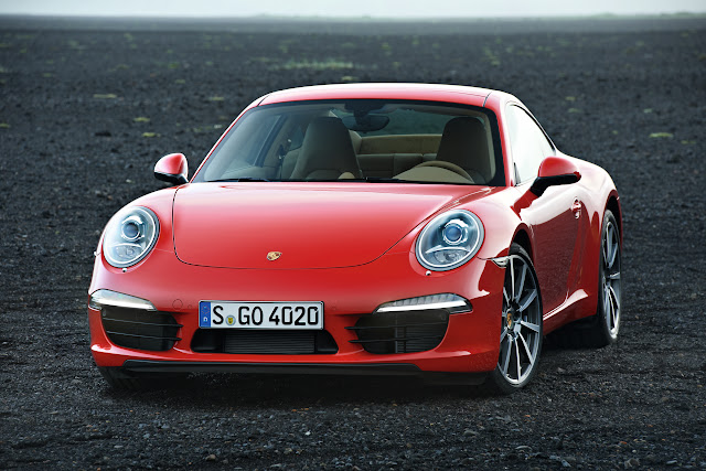 2012 All New Porsche 911 991 not 998 Model Official picture Carrera Coupe