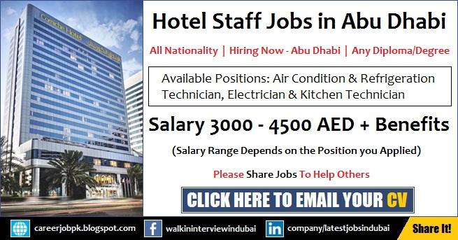Corniche Hotel Abu Dhabi Careers