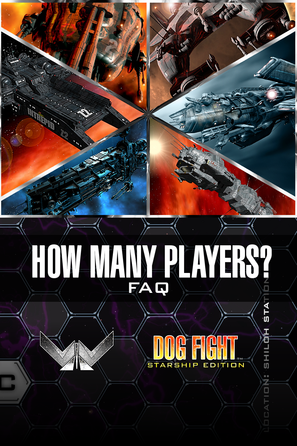 Dog Fight: Starship Edition how many players?