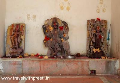 टिकीटोरिया मंदिर रहली सागर - Tikitoriya Devi Temple Rehli Sagar city