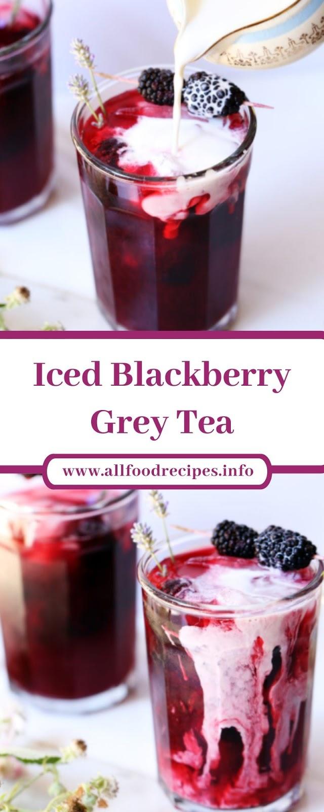 Iced Blackberry Grey Tea