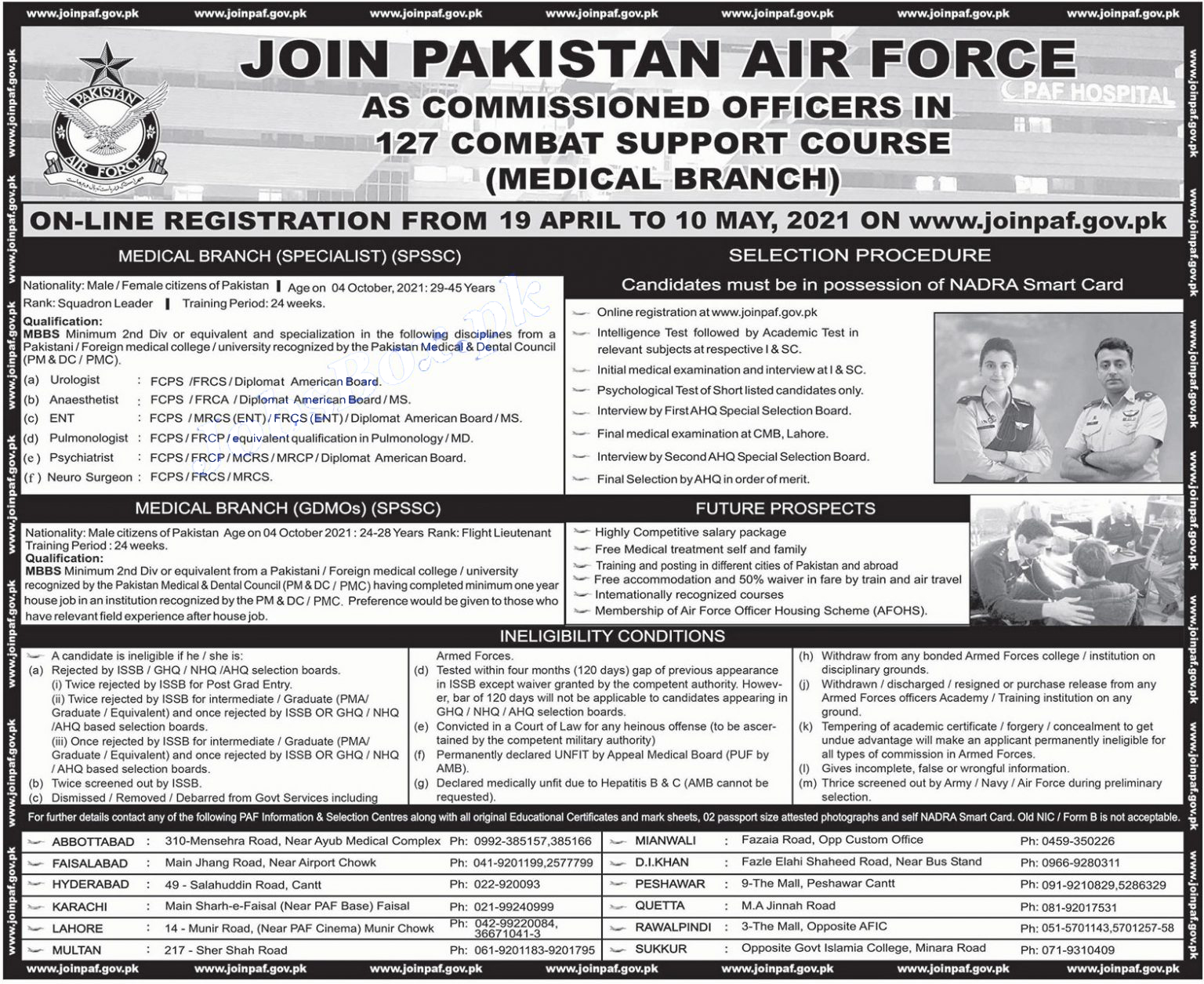 oin Pakistan Air Force PAF Jobs 2021 as Commissioned Officer