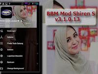 BBM Mod Shiren Sungkar Apk v3.1.0.13 Mod (Change Theme/Background/Unlock)