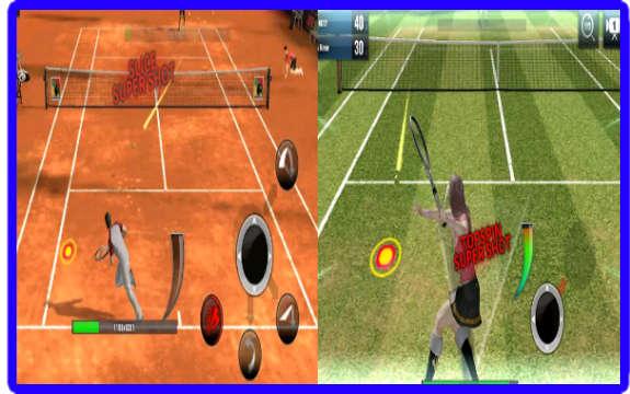 افضل لعبة تنس للاندرويد Ultimate Tennis