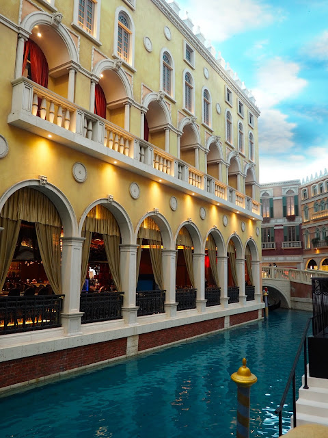 Interior of The Venetian casino, Macau, SAR of China