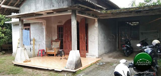 Rumah dalam perkampungan jalan Godean Km 9