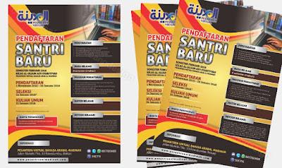 jasa desain poster pendaftaran