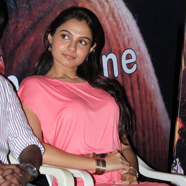 Andrea Jeremiah latest hot photos from Virattu Movie Audio Release Function
