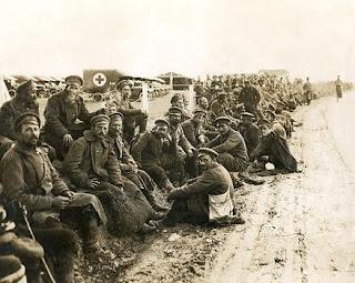Българските пленници в Гърция след Първата световна война