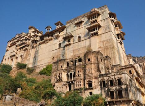 Taragarh Fort Star fort  Tourist Attraction Bundi Rajasthan