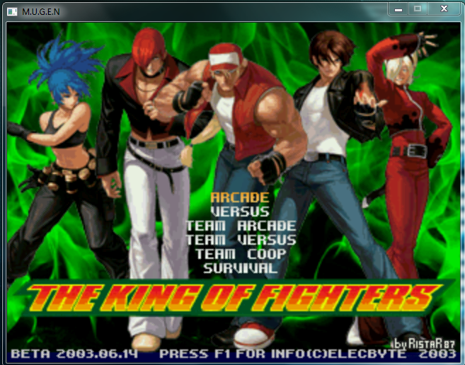 The King Of Fighters M U G E N Free PC Download ~ Free