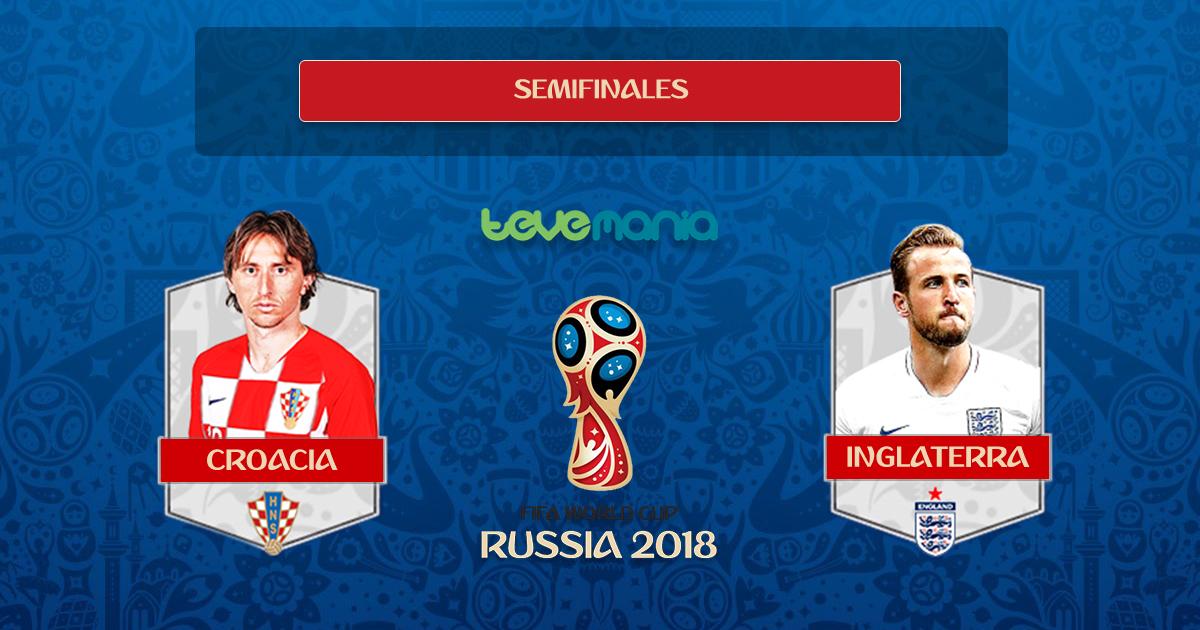 Croacia elimina a Inglaterra y clasifica a la gran final del mundial