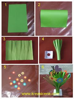 Tutorial membuat prakarya sederhana dan mudah dari kertas