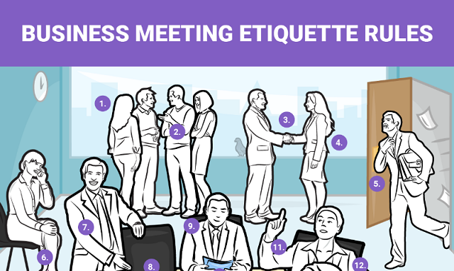 Business Meeting Etiquette Rules