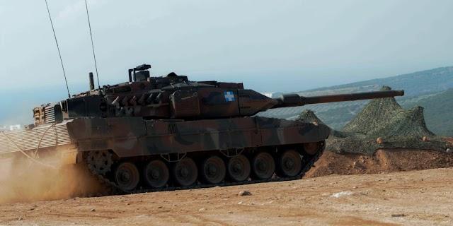 «Στο στόχαστρο» του ΓΕΣ οι δυνατότητες αναβάθμισης των αρμάτων μάχης Leopard