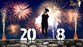 Happy New Year - 2018 || New year Editing|| PicsArt Photo Editing || PicsArt Manipulation Editing Tutorial