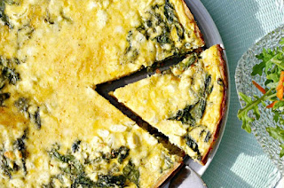 تحضير قالب السبانخ بالجبنة