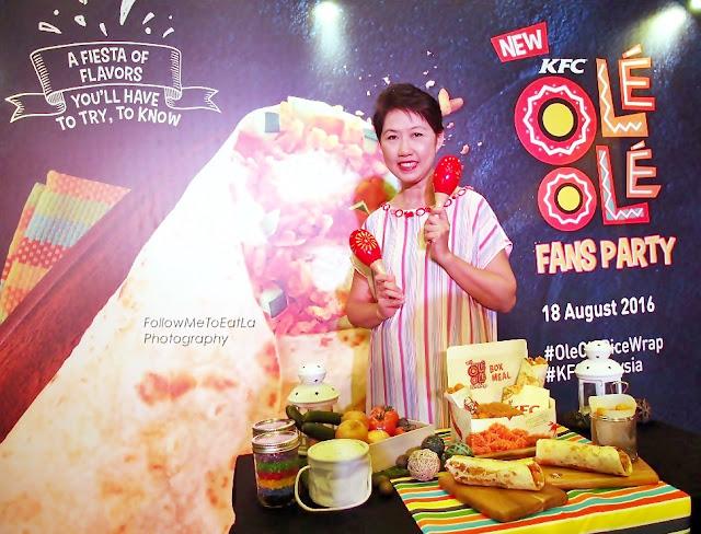 KFC OLE' OLE' Fans Party
