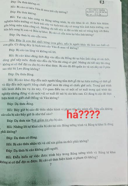 Biên bản 2 phiên tòa Hồ Duy Hải không nhận tội và bị cáo đều kêu oan