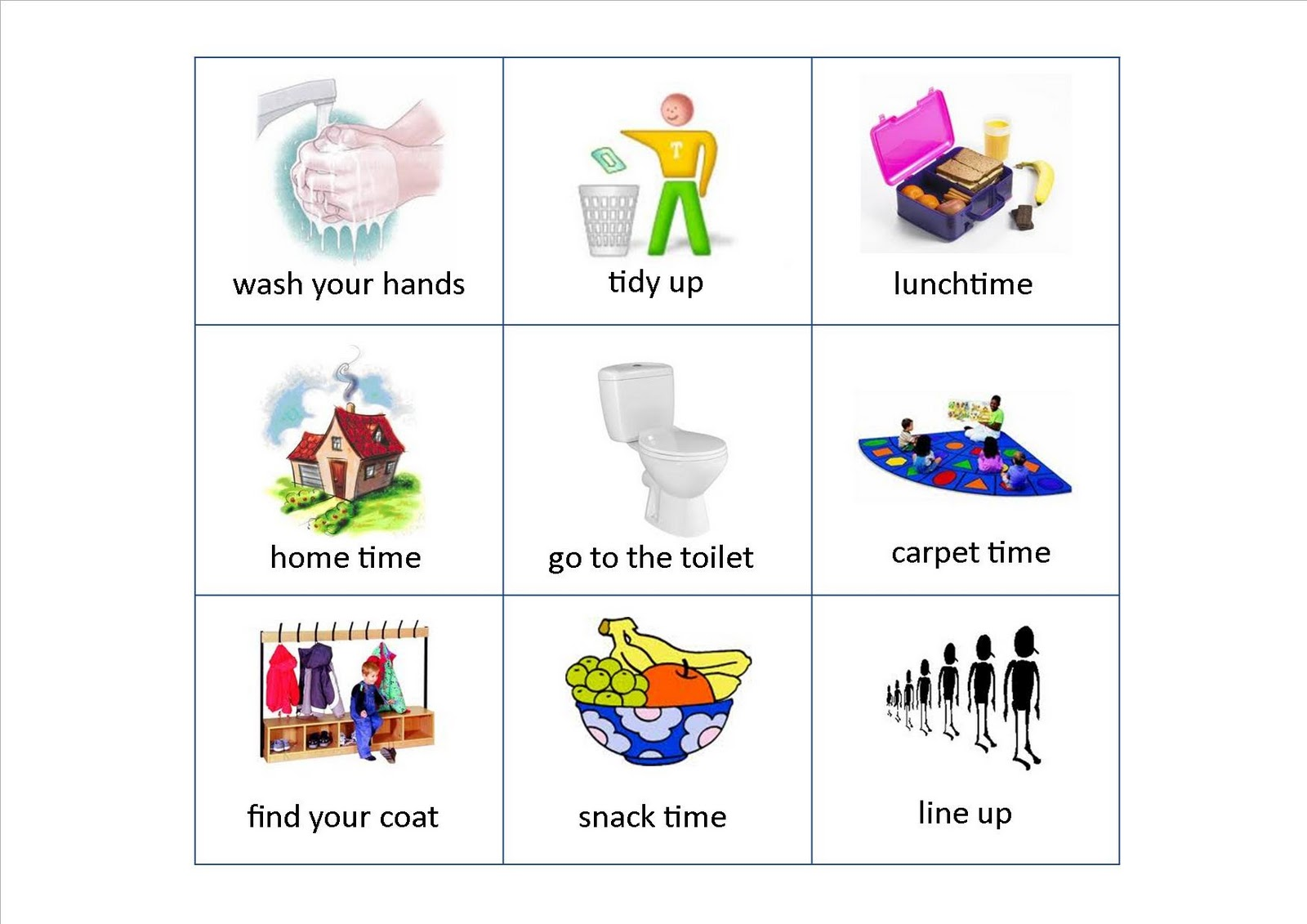 Joyful English For Kids Let S Learn Classroom Behaviors