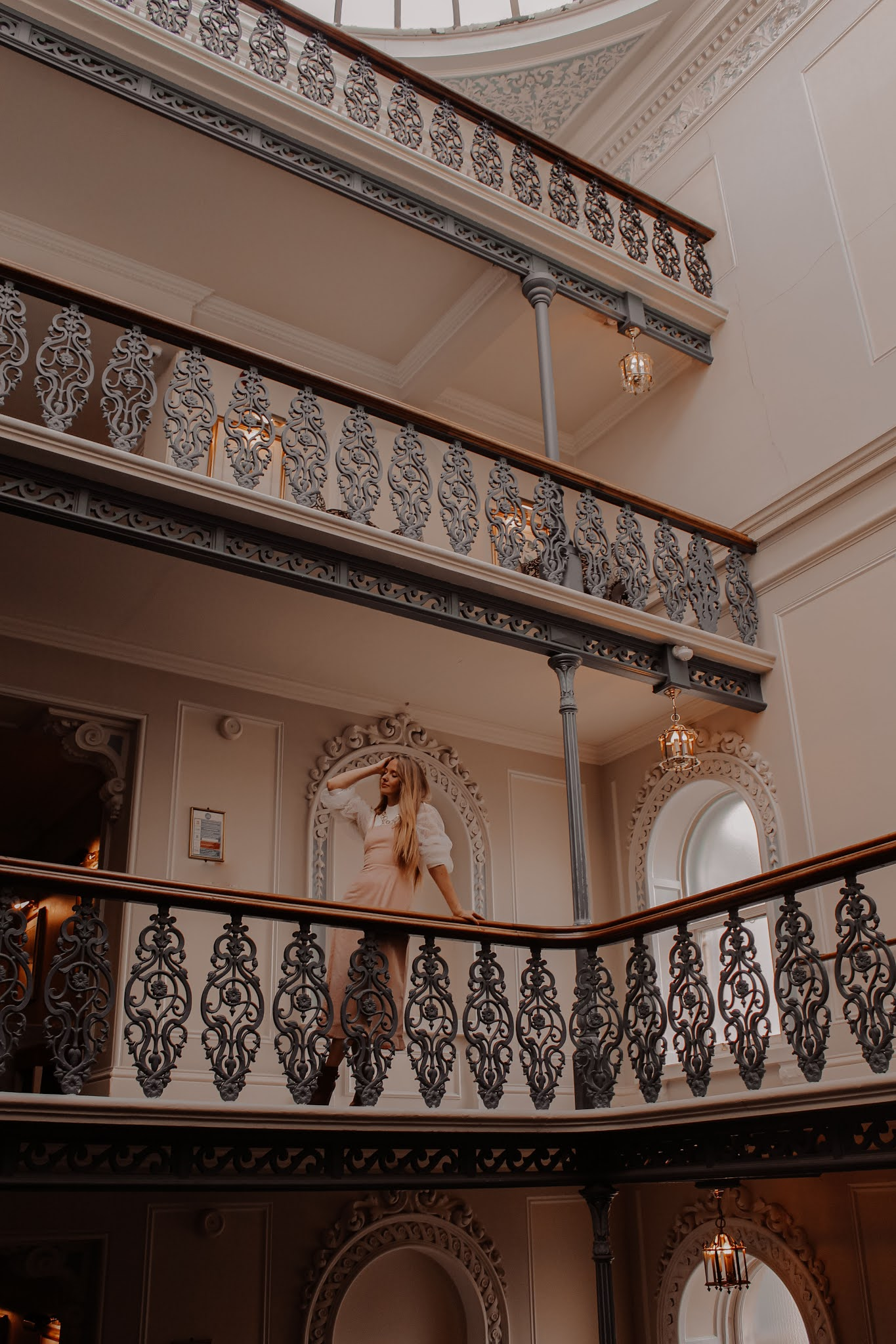 The Grand Brighton Luxury Hotel Staircase