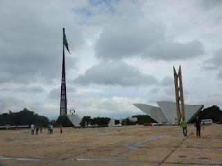 Panteão da Pátria e Mastro da Bandeira