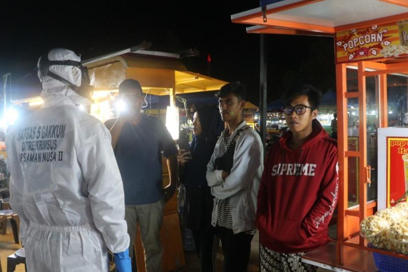 Polda Kepri Gelar Aman Nusa II Penanganan Covid-19 Seligi-2020