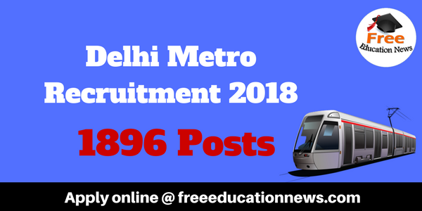 DMRC Recruitment 2018
