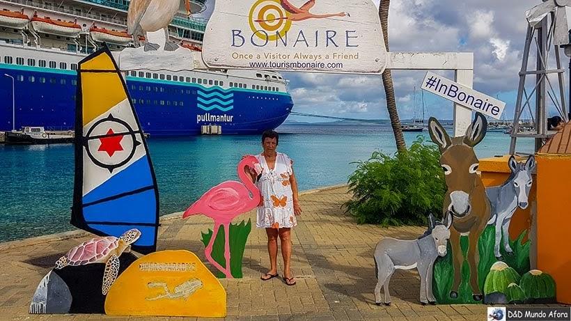 Bonaire, segunda parada do navio - Diário de Bordo: cruzeiro pelo Caribe