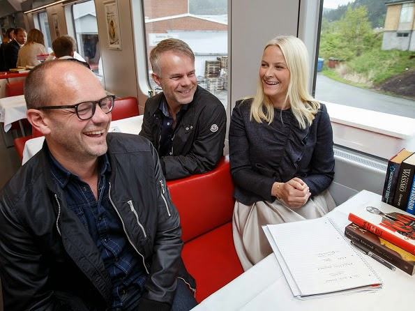 Crown Princess Mette-Marit On Literature Tour