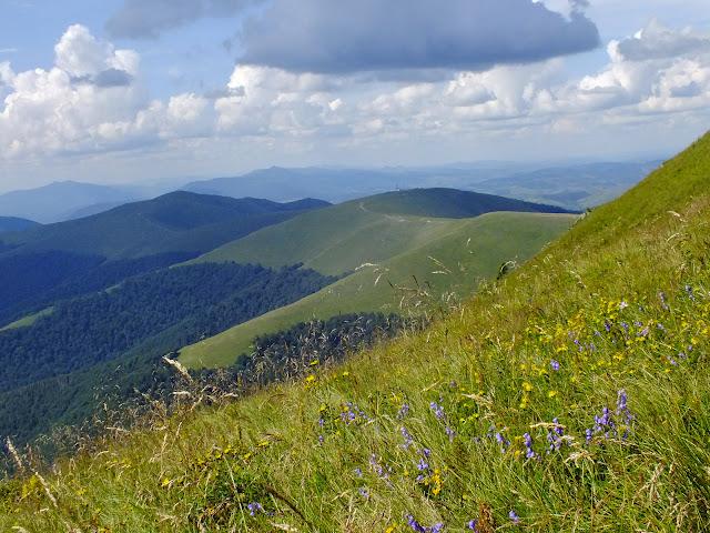 Вид в сторону горы Плай
