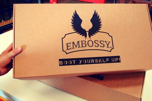 cajas para botas