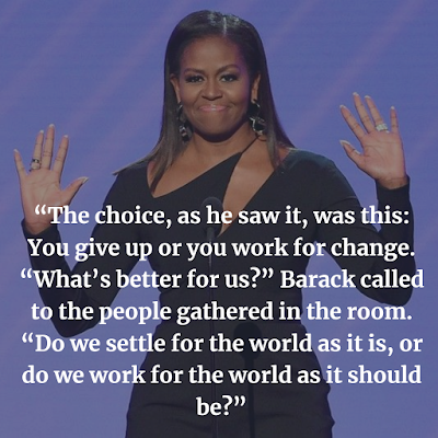 Best Michelle Obama inspiring quotes